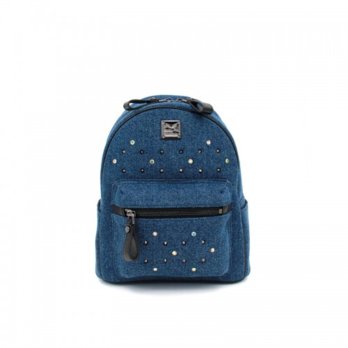 27/33CCSJ Denim Classic Dark Denim Blue Backpack
