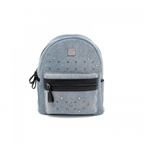 27/33CCSJ Denim Classic Light Denim Blue Backpack