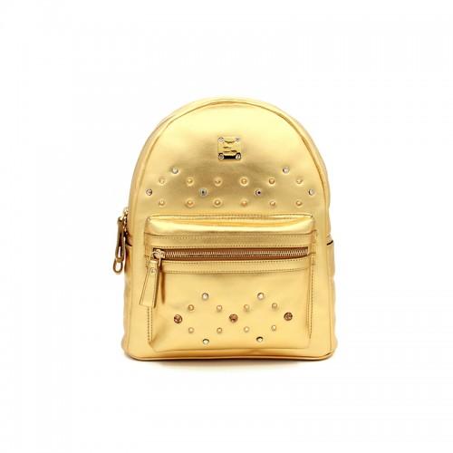 33CCSJ Flat Grain Classic Gold Backpack